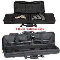 130 cm/52 pouces longueur militaire sacs 600D Oxford double Cabbeen sac tactique CS Airsoft pistolet fusil sacs pour hommes pêche chasse randonnée