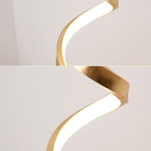 Image 3 - Lampe de bureau design nordique moderne, luminaire décoratif dintérieur, prise ue/US, pour chambre à coucher, chambre à coucher, bureau, 24W