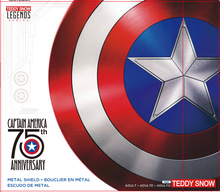 75TH América Cosplay Adereços Escudo Adulto 1:1 Réplica + Alça Ajustável