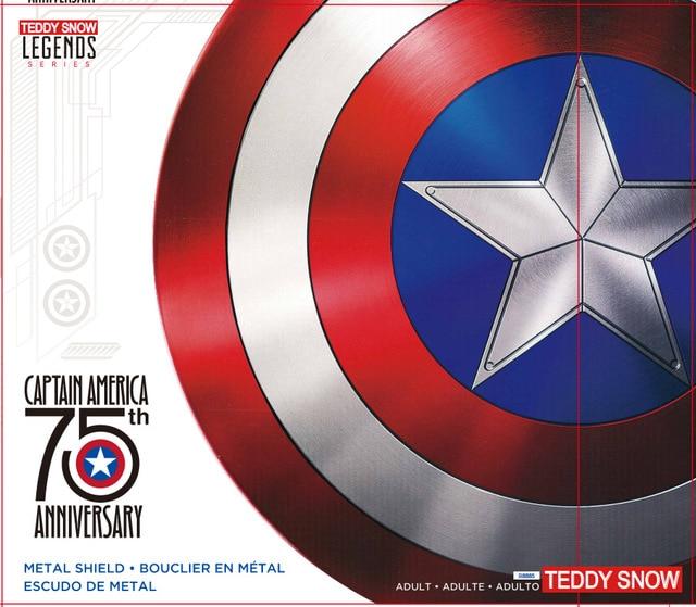75TH America Cosplay Props Adult Shield 1:1 Replica+Adjustable Strap