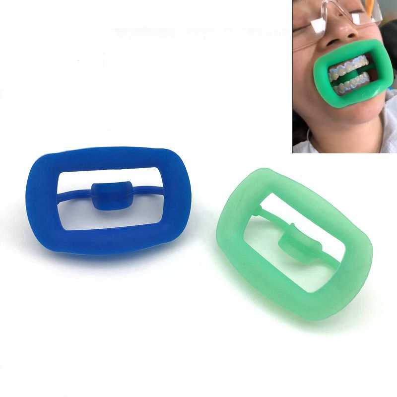 Nuovo 1pc Dental divaricatore molle del silicone Intraorale Lip Guancia Divaricatore Mouth Opener Guancia Espandere Dentale Ortodontico