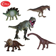 Jurassic Wilde Leven Dinosaurus Speelgoed Tyrannosaurus Rex Model Plastic Play Speelgoed Set Dinosaurussen Pvc Action Figure Kids Geschenken