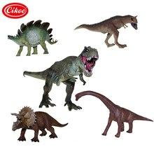 Jurassique vie sauvage dinosaure jouets tyrannosaure Rex modèle en plastique jouer ensemble de jouets dinosaures PVC figurine enfants cadeaux