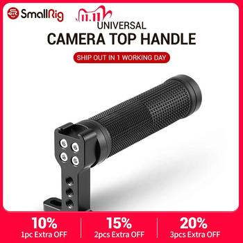 SmallRig Top Handle Grip Rubber with Top Cold Shoe Base for Dslr Video Camera Camcorder – 1447 ( Black Ring)