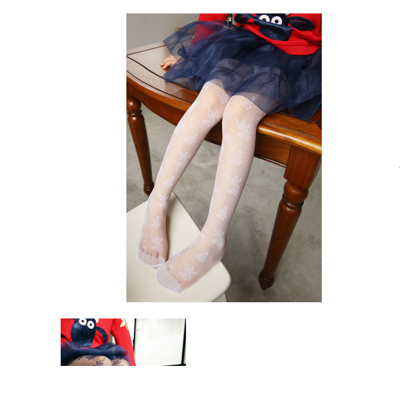 2019 Girl Pantyhose Children Summer Lace Tights Kids Spring Pantyhose Girls Underpant Dance For Kids Children Lace Collant Fille 2