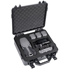 Smatree Waterproof Hard Case for DJI Mavic 2 Pro or DJI Mavic 2 Zoom Fly More Combo waterproof hard shell backpack storage box carrying case suitcase silver for dji mavic air fly more combo rc drone fpv