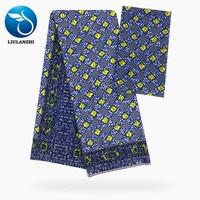 LIULANZHI Prints fabric Wax Design Chiffon Material African Sewing Fabric for Dress Soft Chiffon Fabric Patchwork ML9X56 60