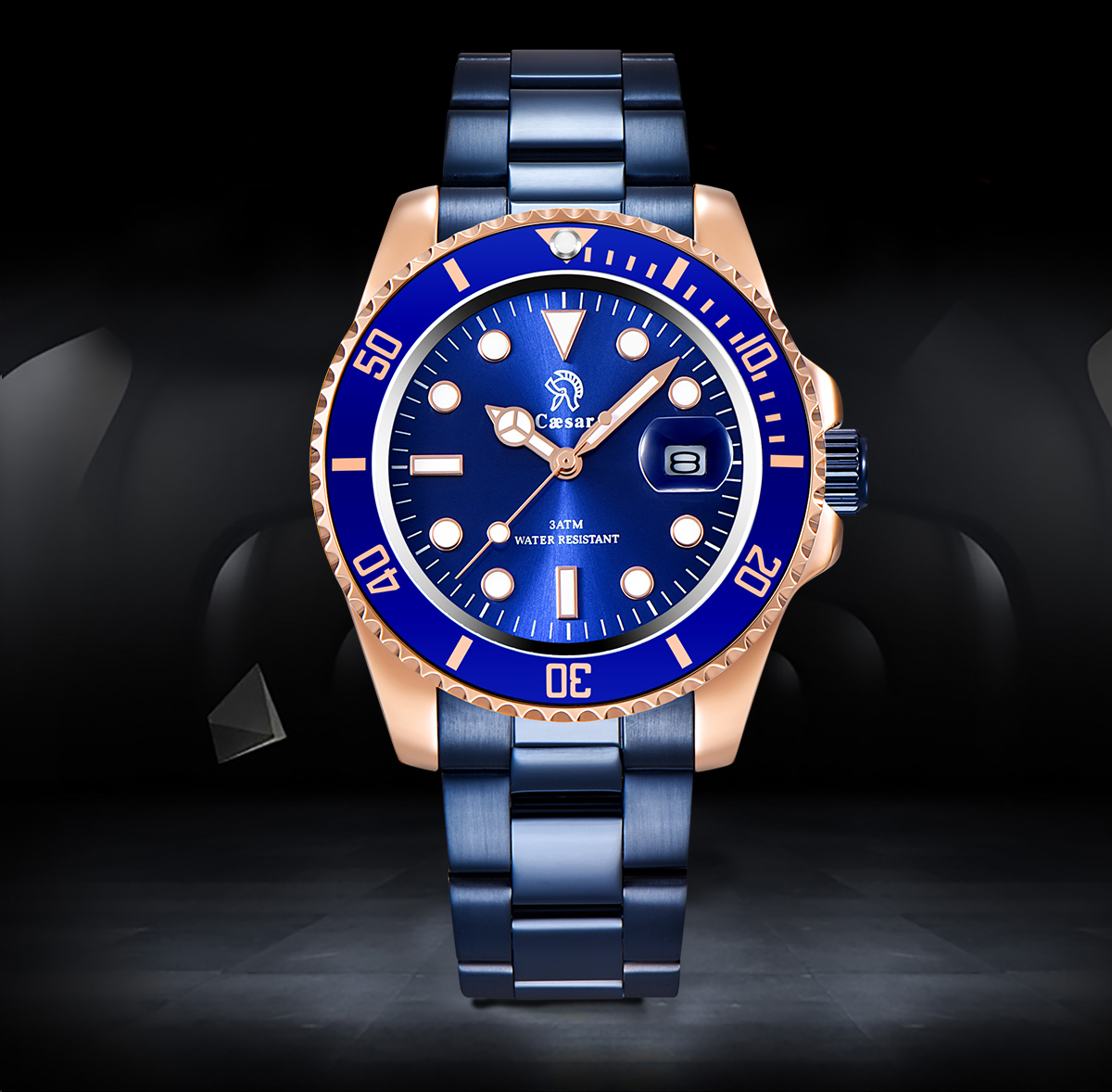 H5526e58d966e40e89466f75e98b3ee09m Rose Gold caesar  Top Brand Luxury Watches