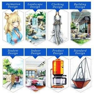 Image 5 - Touchfive 30/40/60/80/168 Kleuren Art Markers Set Alcohol Gebaseerde Inkt Sketch Marker Pen Voor Kunstenaar tekening Manga Animatie Levert