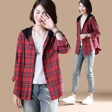 Hot New fashion Korean shirt blouse shirt shirt loose shirt hooded shirt цена