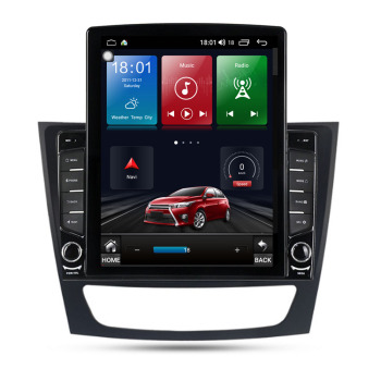 9.7 Android 10.1 For Mercedes Benz Mercedes Benz E/CLS/G Class W211 W219 tesla car GPS radio stereo navigation image