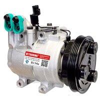 HS15 kompressor für Hyundai Elantra Tiburon Matrix 97701-2D100 97701-2E000 97701-09000 97701-2C100 F500CD1BA05 F500NA5BA02