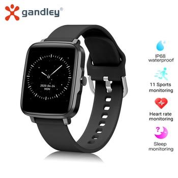 gandlEy F2 Smart Watch 2020 Men Women Girls Blood Pressure Monitor Electronics Sport Smart Wrist Watch Smartwatch Clock