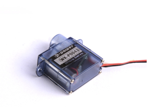 K-power P0043 4.3g / 0.9kg/ 0.07Sec High Speed Coreless Motor MiniI/Micro servo for RC Airplane Helicopter