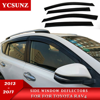 LIGHT TRANSMISSION Wind Deflector For toyota rav4 rav 4 2013 2014 2015 2016 2017, Rain Window Visor for toyota rav4 2013-2017 light transmission wind deflector for toyota rav4 rav 4 2013 2014 2015 2016 2017 rain window visor for toyota rav4 2013 2017