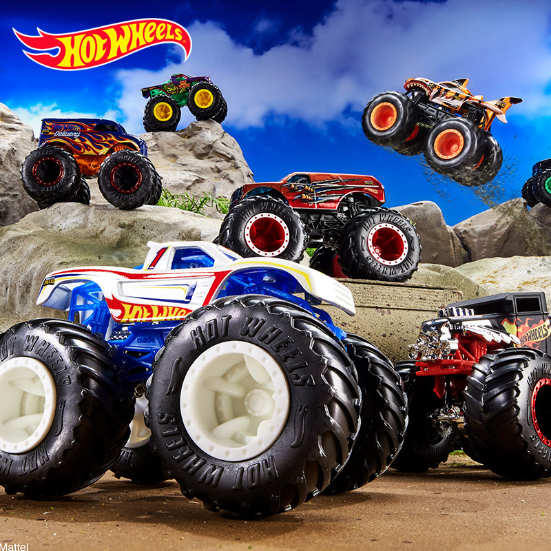 Original 1 64 Hot Wheels Monster Trucks Metal Car Toy Hotwheels Giant Wheels Big Foot Collection Wild Collision Car Toys Fyj44 Diecasts Toy Vehicles Aliexpress
