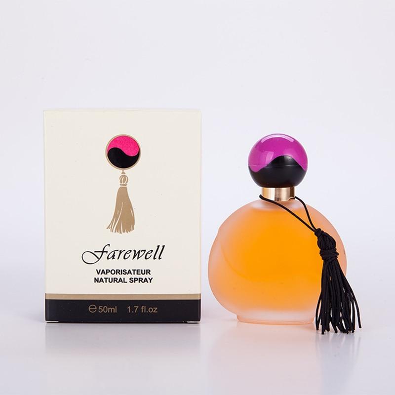 50ml Perfume Spray for Women Fragrance Perfumed Eau De Toilette Long Lasting Deodorants Anti Odor Parfum Glass Bottle