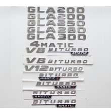 Для mercedes benz хромированные буквы w156 gla180 gla200 gla220
