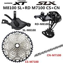 SHIMANO DEORE XT SLX M8100 M7100 M6100 Groupset MTB הרי אופני 1x12 Speed 10 51T M7100 M8100 שיפטר אחורי הילוכים