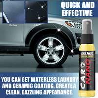 Automotive Liquid Nano-hydrophobic Spraying Wax 30ML Paint Surface Maintenance Sealing And Polishing Excellent Mirror Effect 6