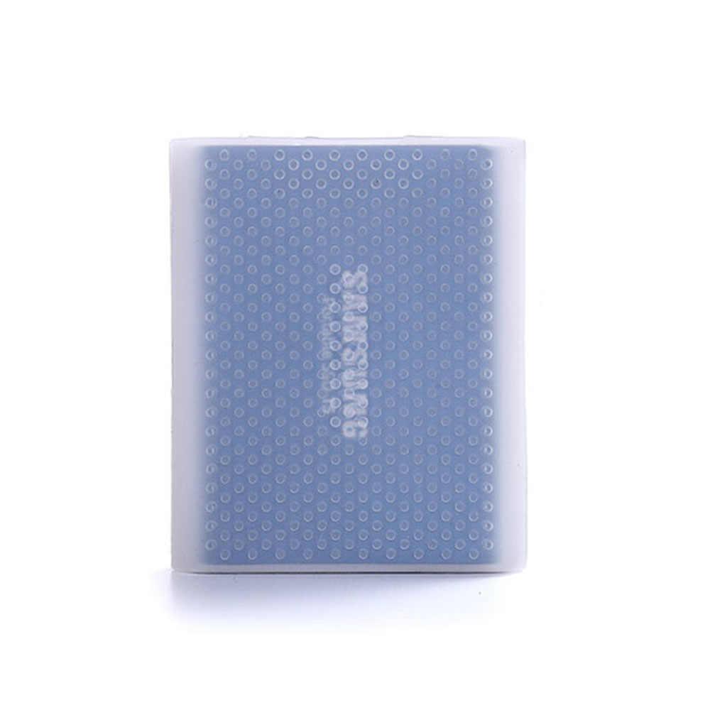Dysk twardy futerał silikonowy dysk twardy antypoślizgowa osłona ochronna zarysowania i odporna na wstrząsy rękaw osłaniający SSD osłona do Samsung T5 T3