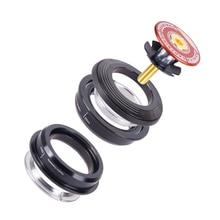 цена на 4444S 44mm Semi Integrated Straight Tube Fork Internal Bicycle Headset Bearing Aluminum Alloy Mountain Cycling Professional Tool