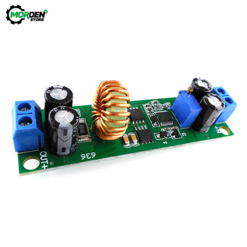 10A DC-DC 60V 48V 36V 6.5V to 30V 12V 3V Car Charger Regulator Step Down Buck Converter Adjustable Power Supply Module image