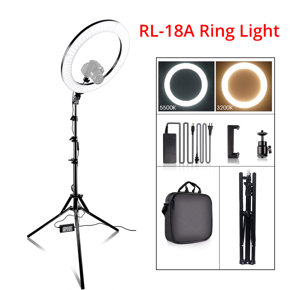 Ring Light LED Video Light Lamp with Tripod Stand 2