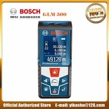 Bosch GLM 500 Многофункциональный измерительный инструмент 50 метров инфракрасный лазерный дальномер измеритель уровня наклона цветной экран