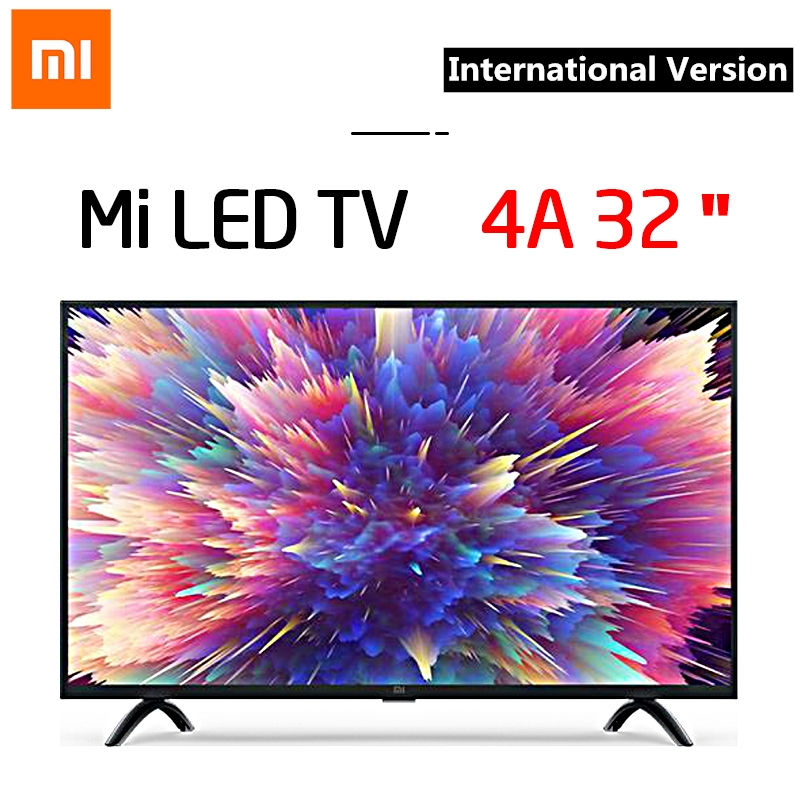 Xiaomi Mi <font><b>Smart</b></font> <font><b>TV</b></font> 4A 3239inchtv <font><b>32</b></font> Android9.0 DVB-T2/C 1GB 8GB 5G WIFI bluetooth 4.2 HD Voice Control Television International image