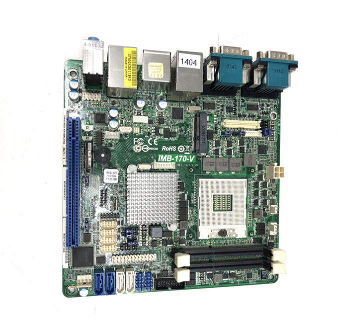 IMB-170-V Mini-ITX QM77 Industrial Motherboard title=