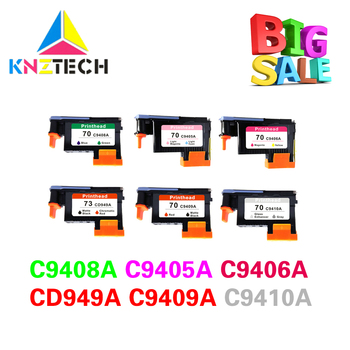 Best compatible for hp 70 73 print head C9408A C9405A C9406A CD949A C9409A C9410A for hp70 Printhead for hp73 Z3100 Z3200 image