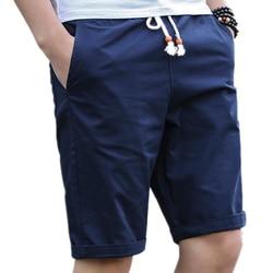 Lawrenceblack marca masculina shorts verão dos homens praia shorts de algodão casual masculino shorts homme bermuda masculina plus size 5xl 979