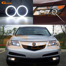 цена на For Acura MDX 2007 2009 2010 2011 Excellent led Angel Eyes Ultrabright illumination smd led Angel Eyes Halo Ring kit