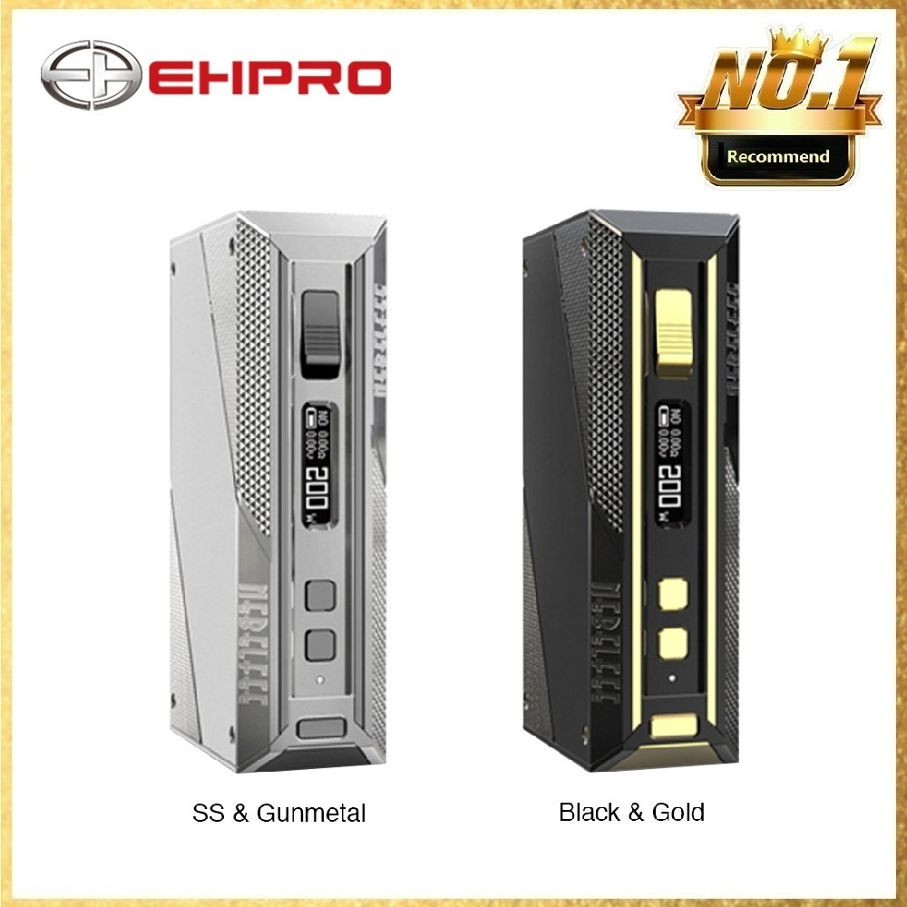 ใหม่ Original Ehpro เย็นเหล็ก TC กล่อง MOD Max 200W E cigarette Vaping Mod Type C USB Quick Charge Vape Mod 510 ด้าย-ใน ตัวจุดบุหรี่ไฟฟ้า จาก อุปกรณ์อิเล็กทรอนิกส์ บน AliExpress - 11.11_สิบเอ็ด สิบเอ็ดวันคนโสด 1