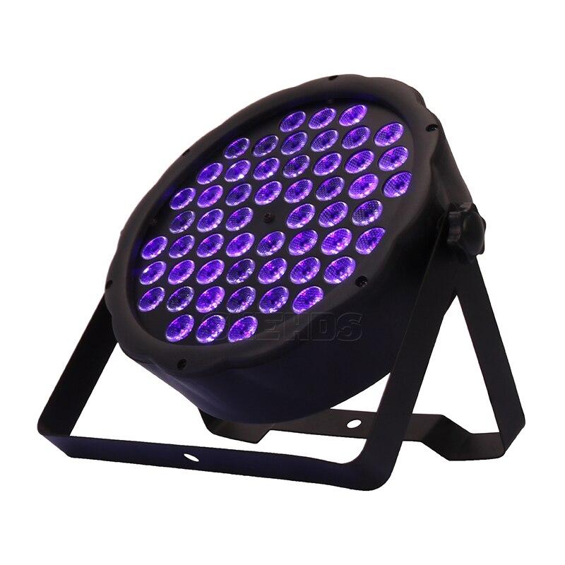 1PCS Led Par Light 54x3W DJ Par Ultraviolet Wash Disco Light 12x3W UV Mini Led Plastic Party Event Stage Effect Dance Home 5