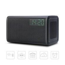 Ggmm e3 coluna de alto falante bluetooth 10 w poderoso alto falantes wifi alta fidelidade com led alarme alto falantes suporte despertador multiroom jogar