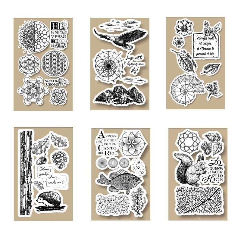 10 x 16 CM 2020 DIY New Stamps For Scrapbooking And Clear Stamps Card Making HD Natural Rubber Stamp Account Craft Set|Cutting Dies| - AliExpress