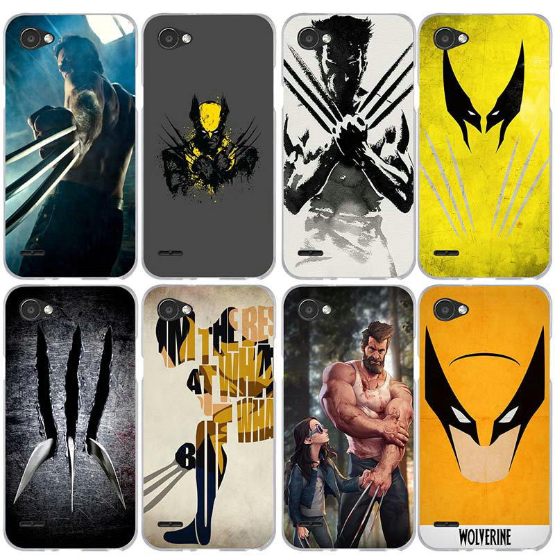 Wolverine Comics Xmen Hero Soft TPU Cell Phone Case for LG V10 V20 V30 G2 G3 Mini G4 G5 G6 K4 K7 K8 K10 2017 Nexus 5X Shell Bag image