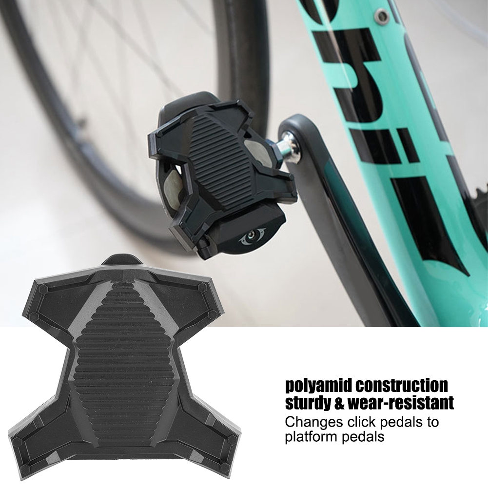 SPD Outdoor Sports Bicycle Cycling Pedal Adapter Platform Clipless For Shimano