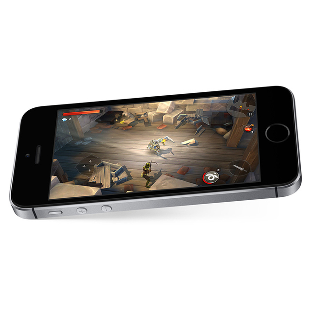 Unlocked Apple iPhone SE Cell Phones LTE 4.0' 2GB RAM 16/64GB ROM Chip A9 iOS 9.3 Dual-core Fingerprint Mobile Phone 4