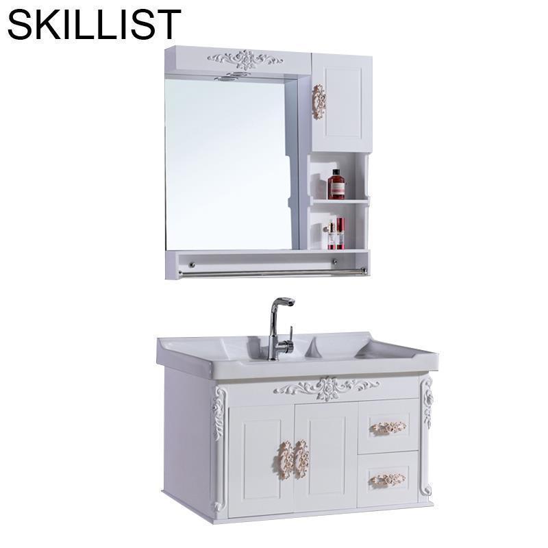 Salle De Bain Rangement Meuble Shelf Table Schoenenkast Schrank Armario Badkamer Vanity Banheiro Mobile Bagno Bathroom Cabinet