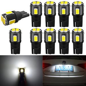 10x W5W coche LED T10 luces interiores LED para Lexus RX300 IS250 GS300 RX RX330 RX350 LX470 GX470 LX570 GS RX 330 leds para auto 12V