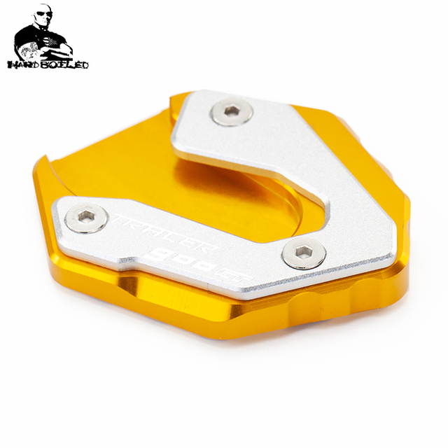 Motorcycle Accessories CNC Auminum Side Stand Enlarger Plate For Yamaha TRACER 900 GT 2018-2019 MT09 2014-2019 MT 09 TRACER