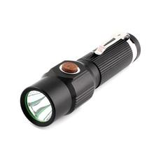 LED Flash light torch 18650 AAA battery lighting flashlights torches mini medical powerful flashlight LED camping hiking 1200LM цена