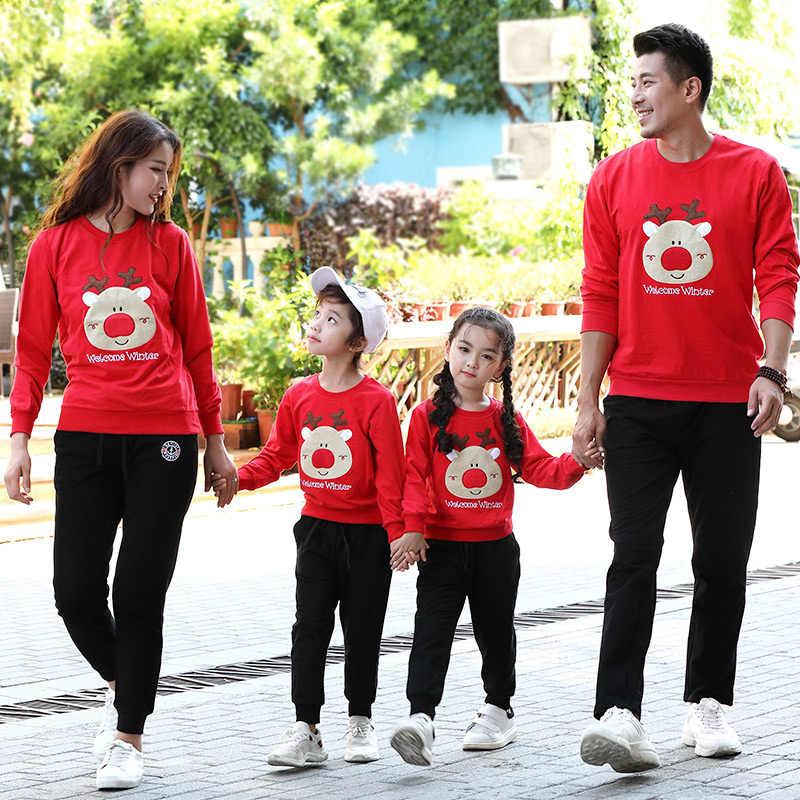 Pull Pour Couples Pull En Coton Pour Noël Vêtements De Dessin Animé Pour Maman Et Son Fils Tenue Assortie Pour La Famille Aliexpress