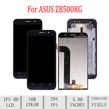 Original For ASUS Zenfone Go 5 Lite ZB500KG X00BD LCD Display Touch Screen Digitizer Assembly For Asus ZB500KG Display withFrame asus zenfone go zb500kg 8gb red