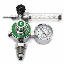 Medidor de flujo de Gas Mig Tig de argón, medidor regulador de soldadura para soldador, compatible con CGA580