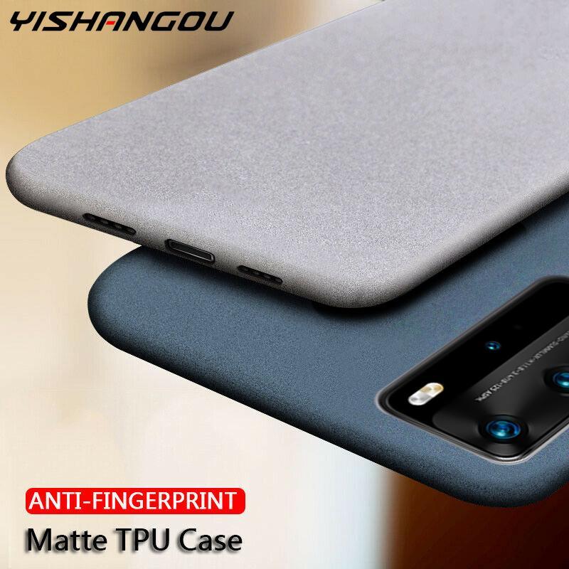 Slim Matte Silicone Soft Cover Case For Samsung Galaxy S20 Ultra Plus A71 A51 A41 A50 M31 A81 A91 A01 A30S A50S Phone Cases