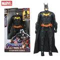 Экшн-фигурка супергероя Marvel Мстители, Бэтмен, Халк, Железный человек, Тор, модель, игрушки для детей, рождественские подарки, 12 дюймов/30 см
